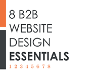 8 B2B Website Design Essentials