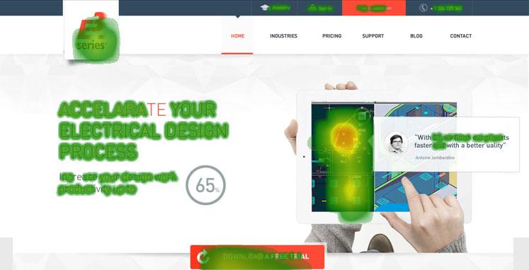 User-Centric-Design--E3   Heatmap