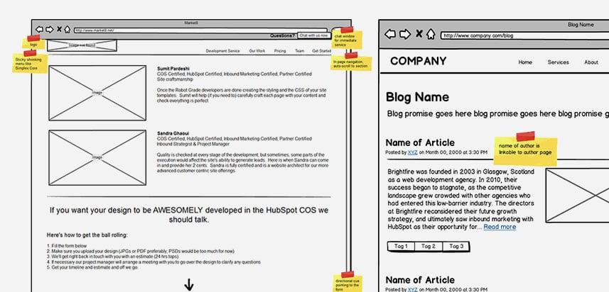 website-wireframes---website-layout-planning