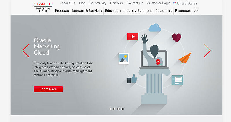 Oracle-Eloqua-Marketing-Automation-and-Marketing-Cloud-Solutions---Home--user_experience,_UX,_web_design