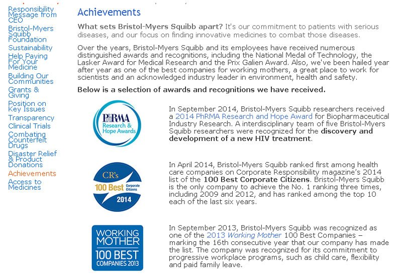 Bristol-Myers-Squibb- Achievements--about_us_page