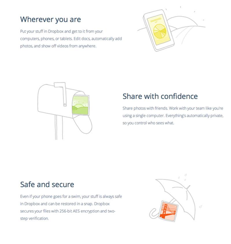 Dropbox--persuasive-web-copy