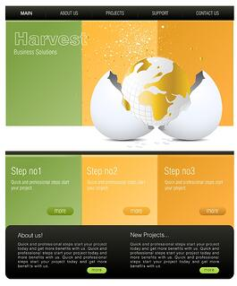 Top 3 small business web design ideas small business website templates accmission Images