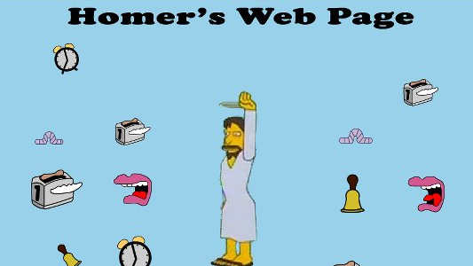 website discontent-homers-website