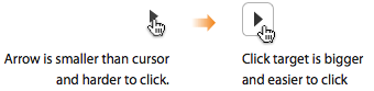 automatic carousel, sliding banner, rotating sliders-carousel-click-targets