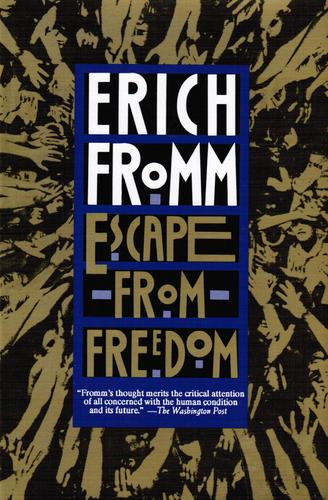 what is the relation between increase your website conversion rate and escape from freedom from Erich fromm.