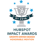 Impact Awards Growth Driven Design