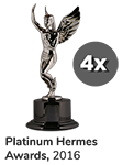 Platinum Hermes Awards