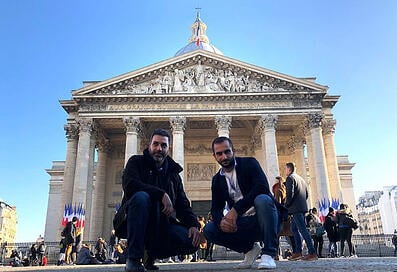 Elie-and-George-in-Paris