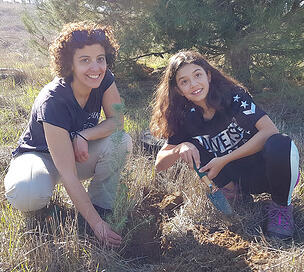Sandra-and-Andrea-Tree-planting
