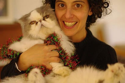 Sandra-and-Simon-the-cat