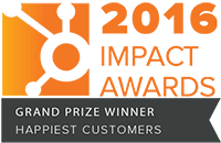 Hubspot Impact Awards - Grand Prize Winner - Happiest Customers