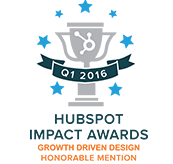 Hubspot Impact Awards - Growth Driven Design